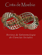 Cinta de Moebio. Revista de Epistemología de Ciencias Sociales